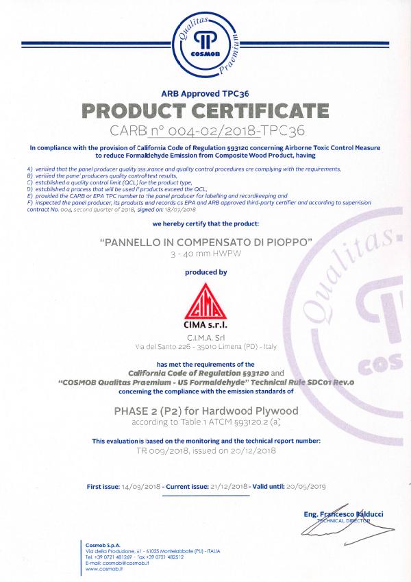 2018-CQP-US-Formaldehyde-CARB-P2-CIMA-mod2